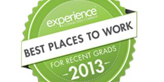 We're one of the best places to work for recent grads!