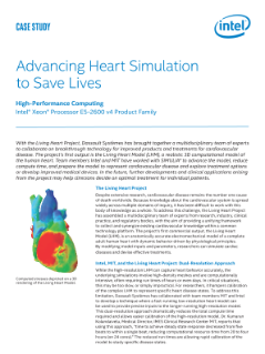 Case Study: The Living Heart Project and Intel® Technologies