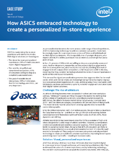 ASICS Embraces Tech to Create a Personalized In-Store Experience