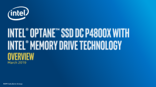 Intel® Memory Drive Technology Benefits