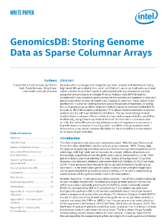 Accelerating Genomic Variant Data