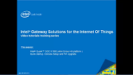 Video: Intel® IoT Gateways Quick Setup